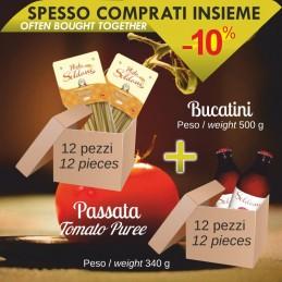 Bucatini + Passata pomodoro