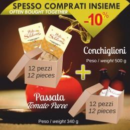Pasta Conchiglioni da 500g...