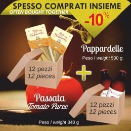 Pasta Pappardelle da 500g...