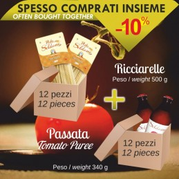 Pasta Ricciarelle da 500g...