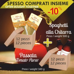 Fileja di Tropea pack of 12 pcs