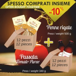 Fileja di Tropea pack of 12 pcs